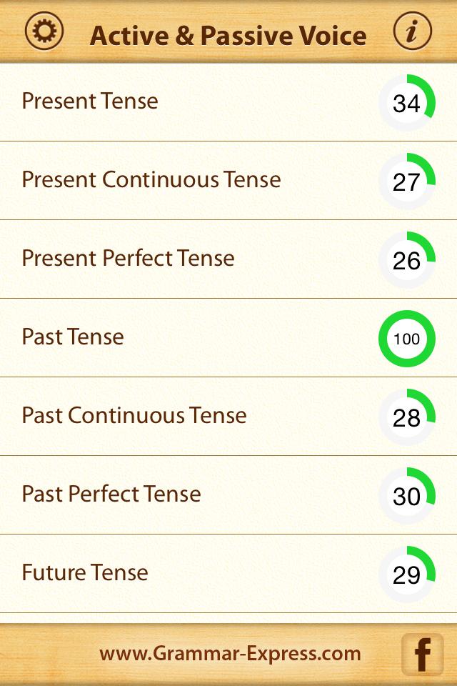 Grammar Express Active & Passive Voice