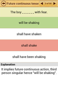 Grammar Express Tenses